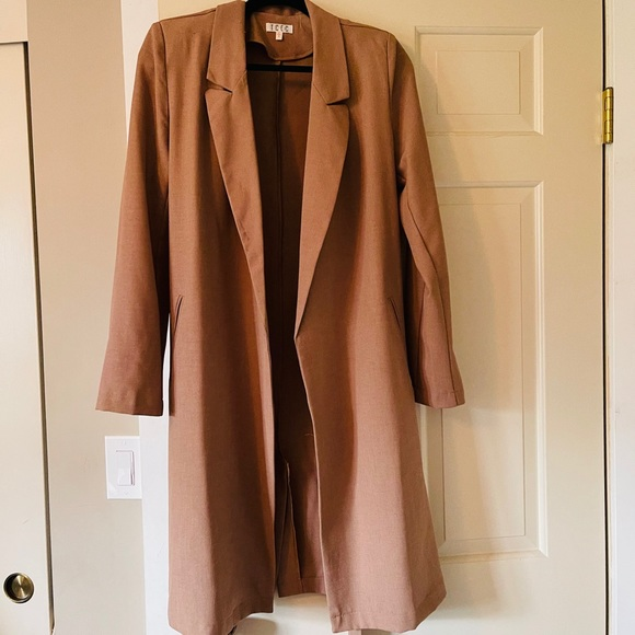 Vici Drape Trench Coat